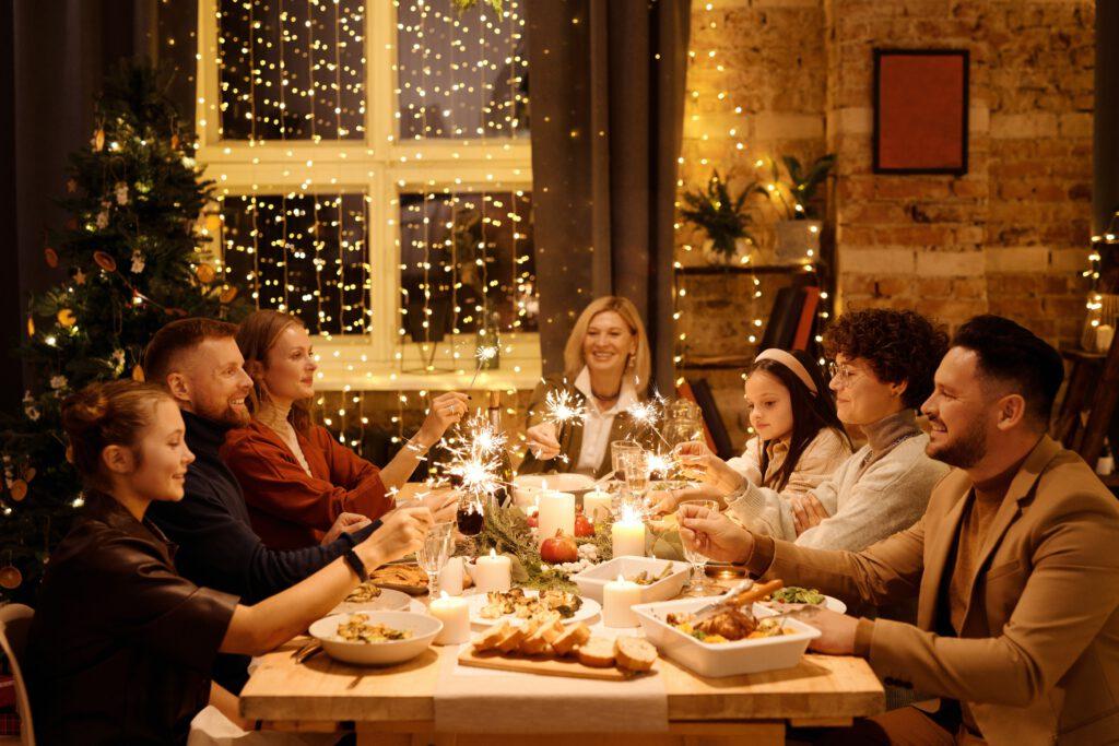 kerst vieren